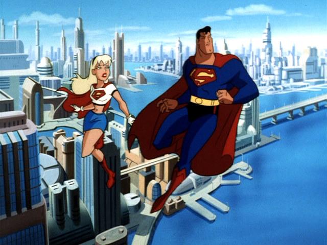 Superman Animated Series Supergirl